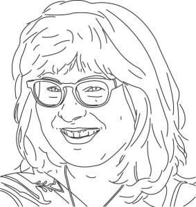 connie tekening kunstkalender